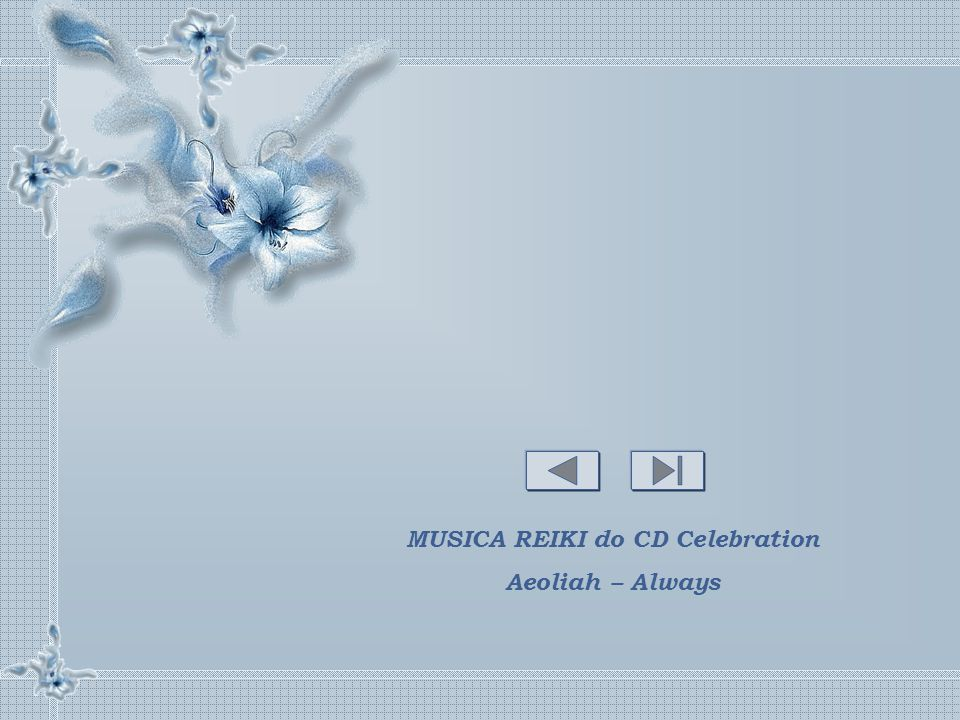 MUSICA REIKI do CD Celebration