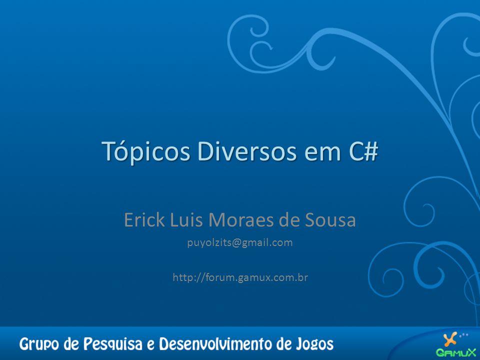 Erick Luis Moraes de Sousa