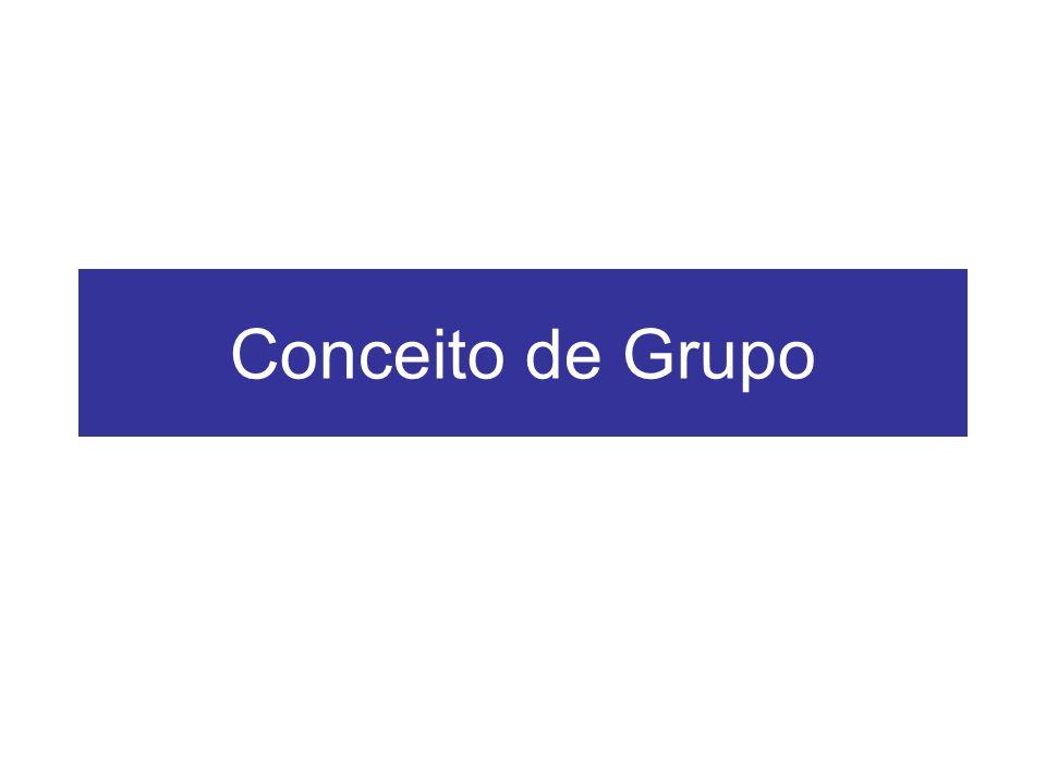 Conceito de Grupo