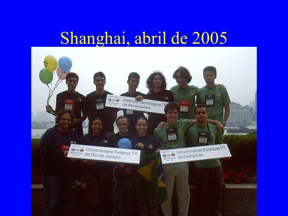 Shanghai, abril de 2005