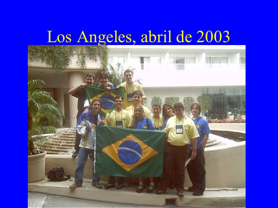 Los Angeles, abril de 2003