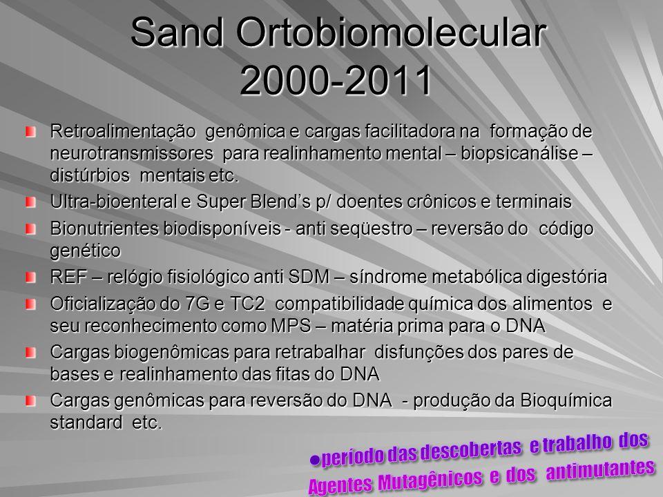 Sand Ortobiomolecular 2000-2011