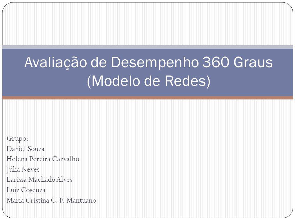 Avaliação de Desempenho 360 Graus (Modelo de Redes)