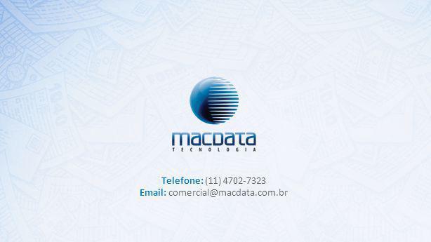 Telefone: (11) 4702-7323 Email: comercial@macdata.com.br Cover 1