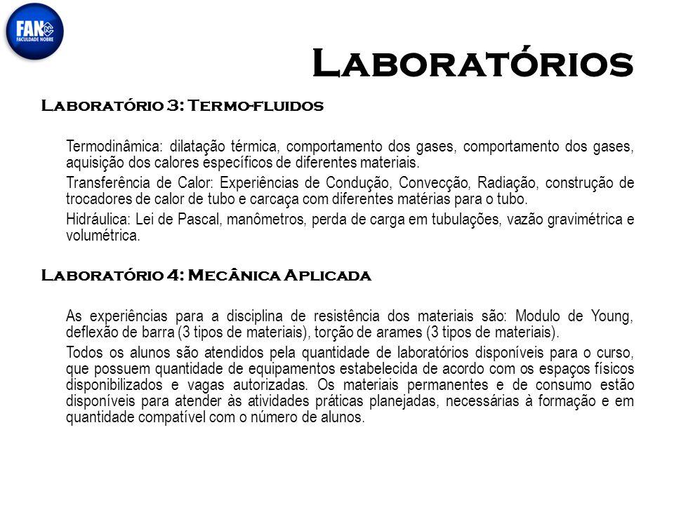 Laboratórios Laboratório 3: Termo-fluidos