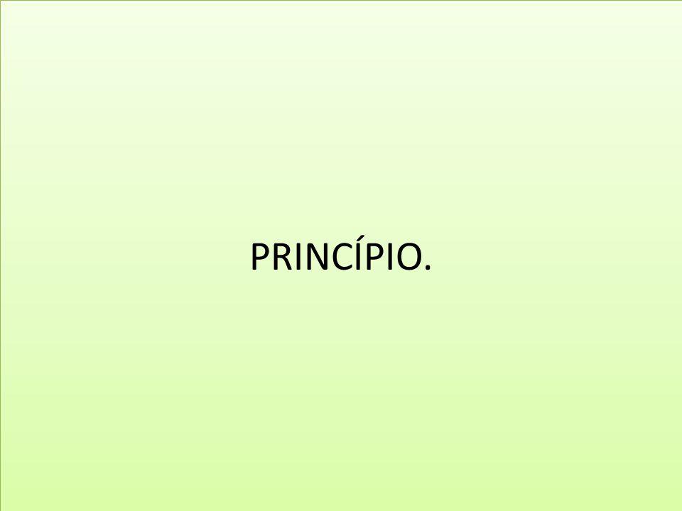 PRINCÍPIO.