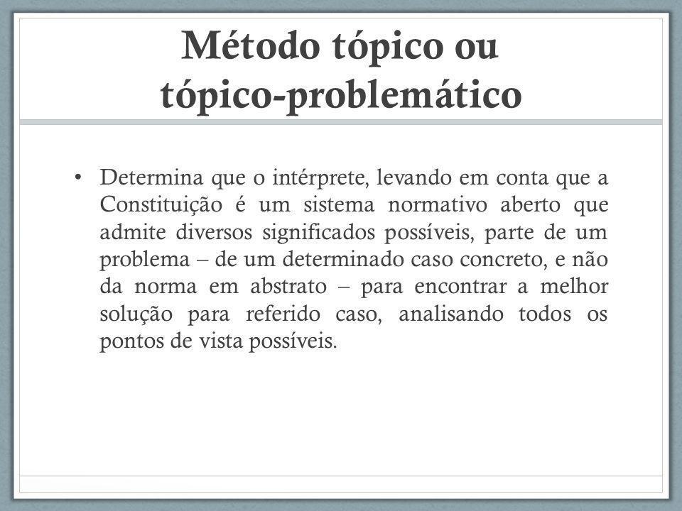 Método tópico ou tópico-problemático