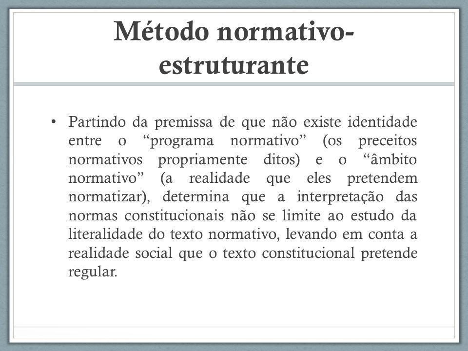 Método normativo-estruturante