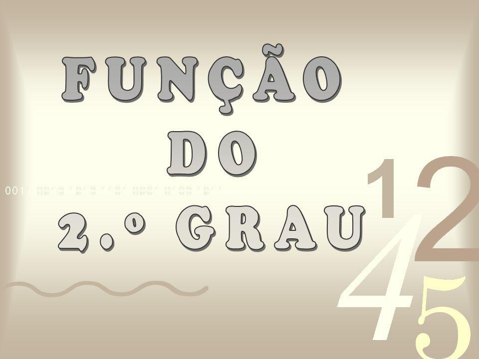 FUNÇÃO DO 2.º GRAU
