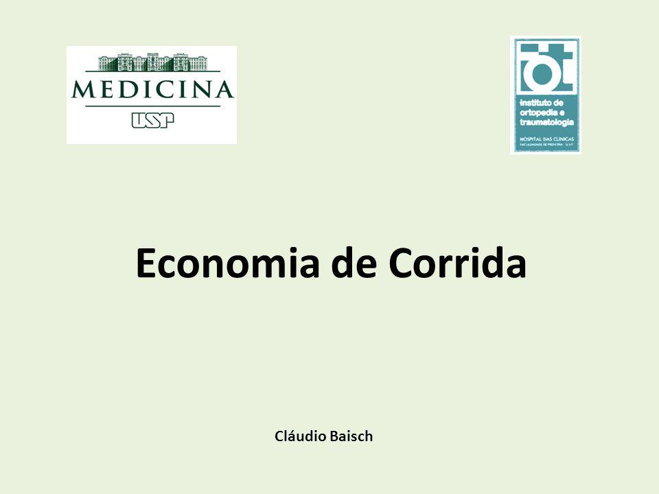 Economia de Corrida Cláudio Baisch