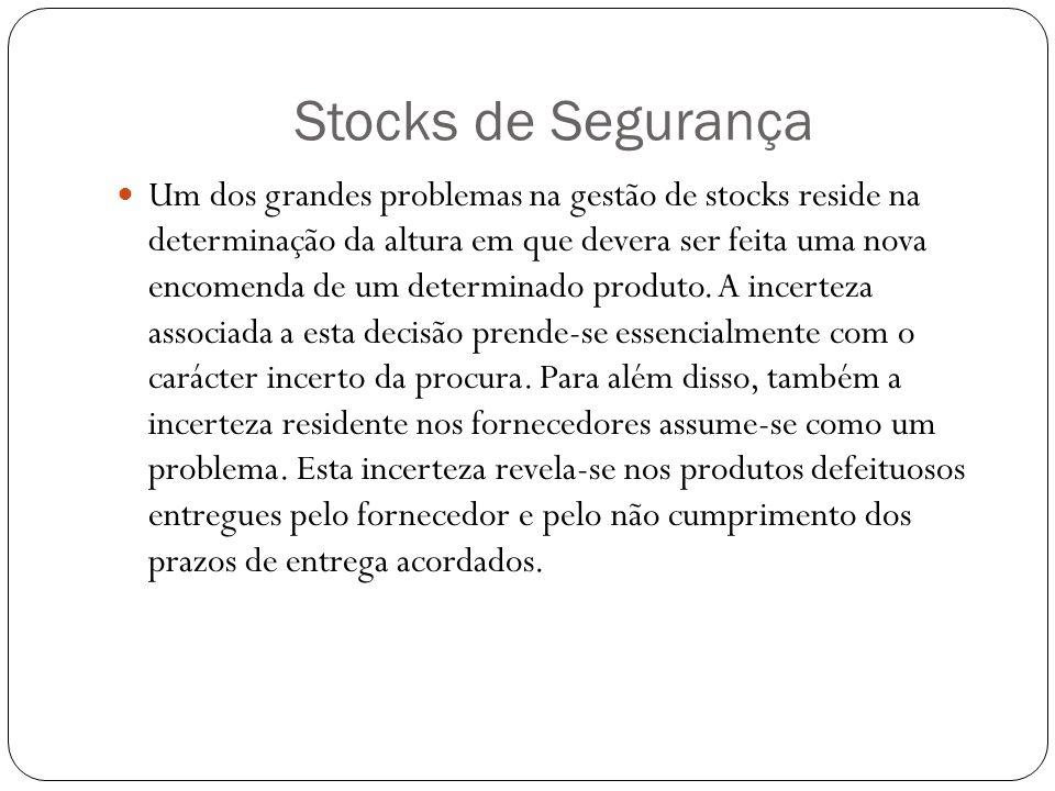 Stocks de Segurança