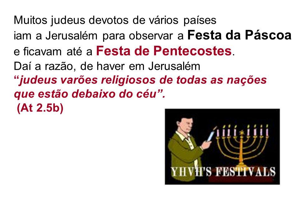 Muitos judeus devotos de vários países