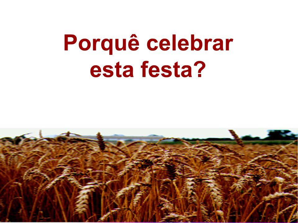 Porquê celebrar esta festa