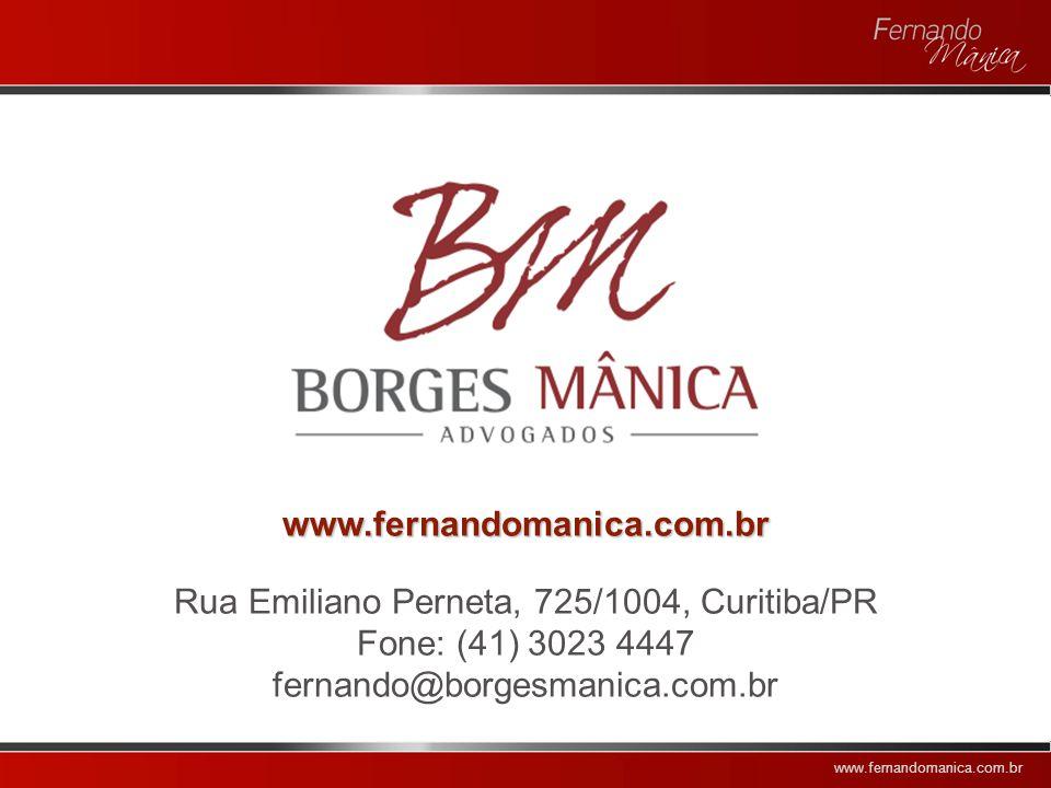 Rua Emiliano Perneta, 725/1004, Curitiba/PR
