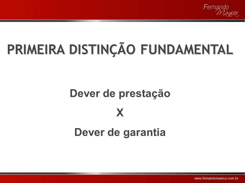 PRIMEIRA DISTINÇÃO FUNDAMENTAL