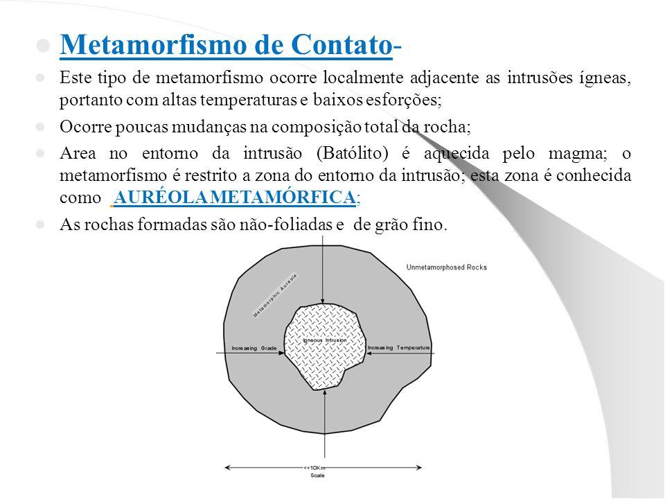 Metamorfismo de Contato-