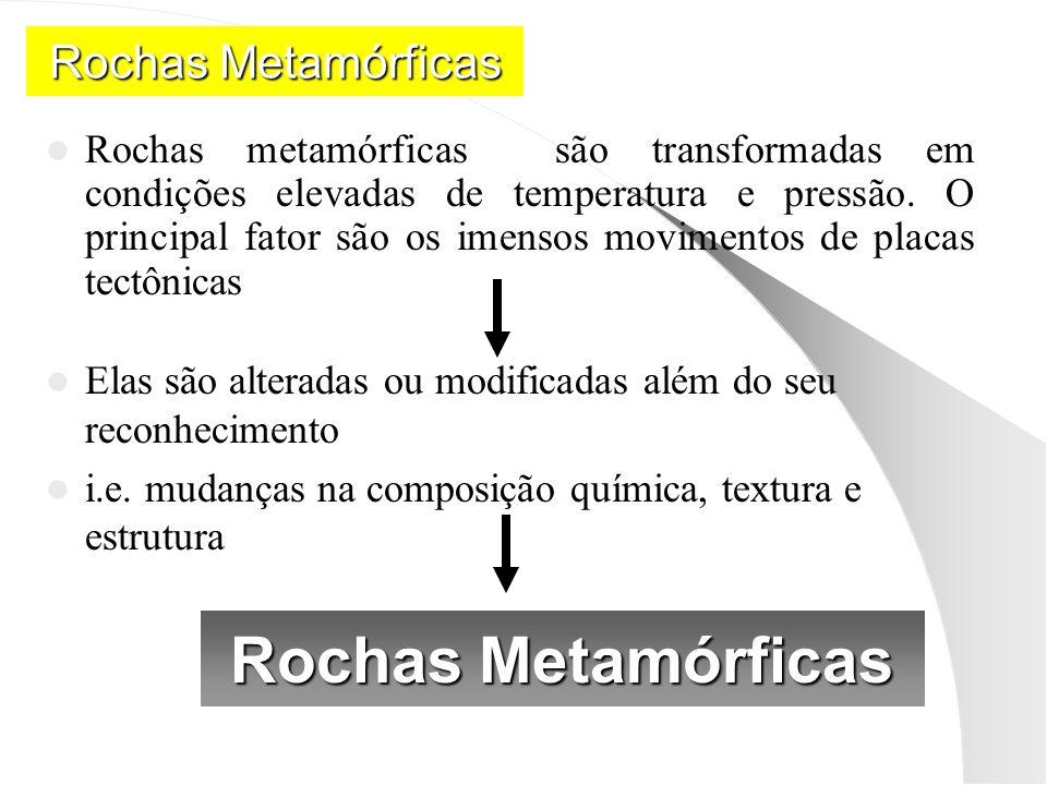 Rochas Metamórficas Rochas Metamórficas