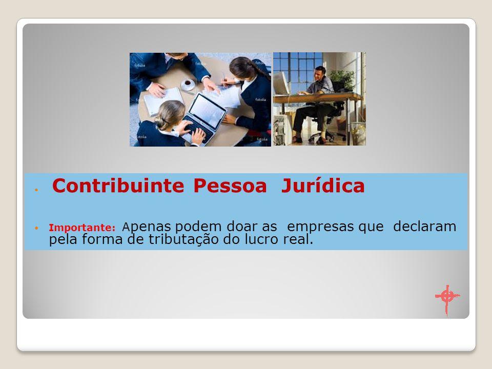 Contribuinte Pessoa Jurídica