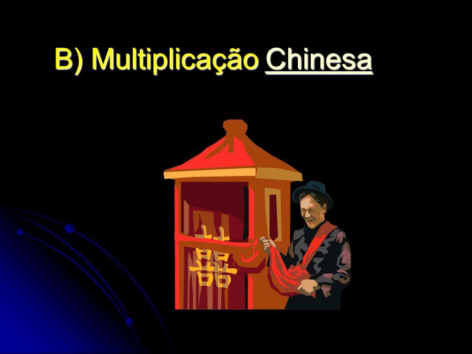 B) Multiplicação Chinesa