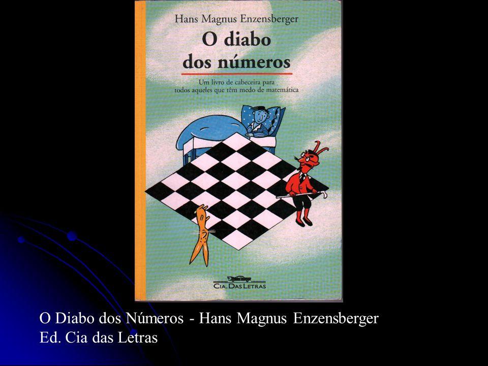O Diabo dos Números - Hans Magnus Enzensberger Ed. Cia das Letras