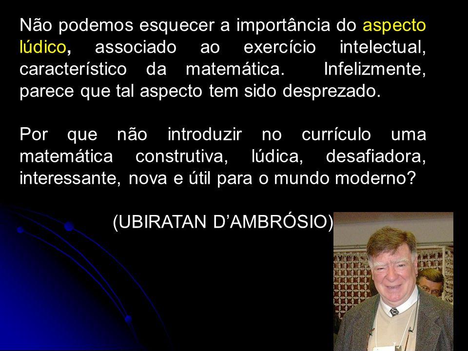 (UBIRATAN D'AMBRÓSIO)