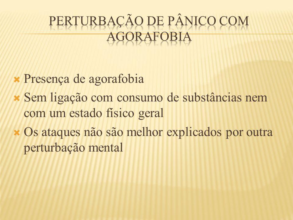 Perturbação de pânico com agorafobia