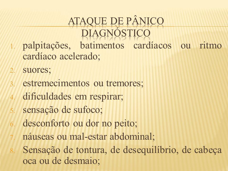Ataque de pânico diagnóstico