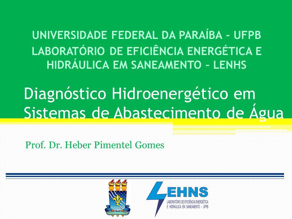 Diagnóstico Hidroenergético em Sistemas de Abastecimento de Água