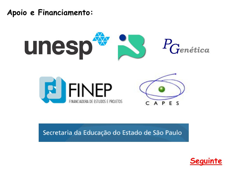 Apoio e Financiamento: