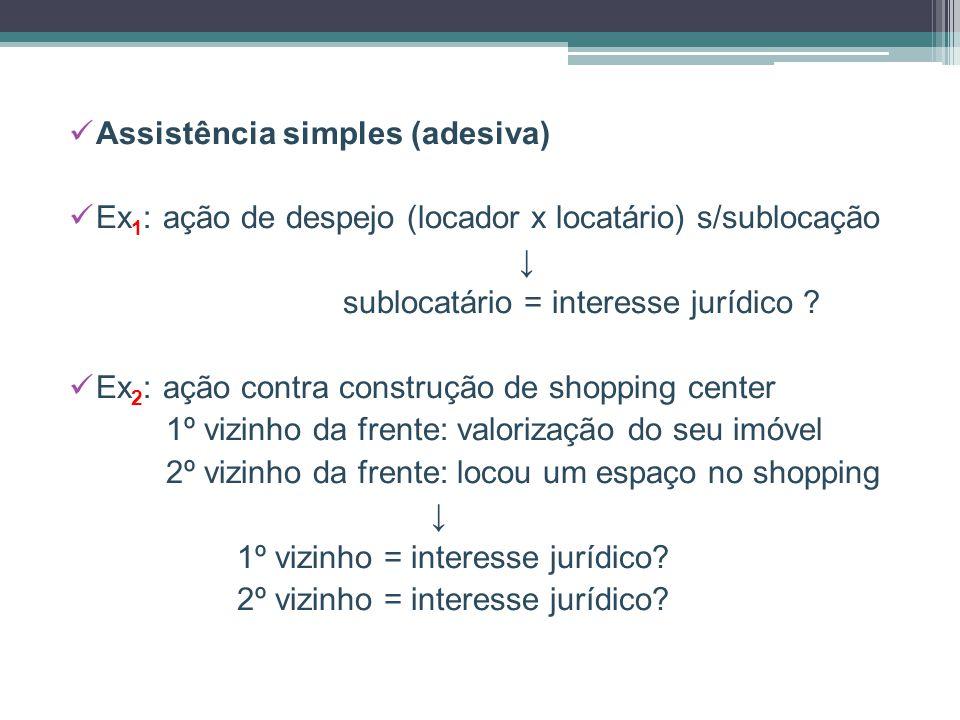 Assistência simples (adesiva)