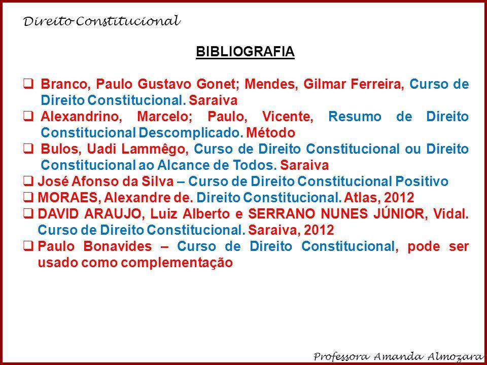 José Afonso da Silva – Curso de Direito Constitucional Positivo