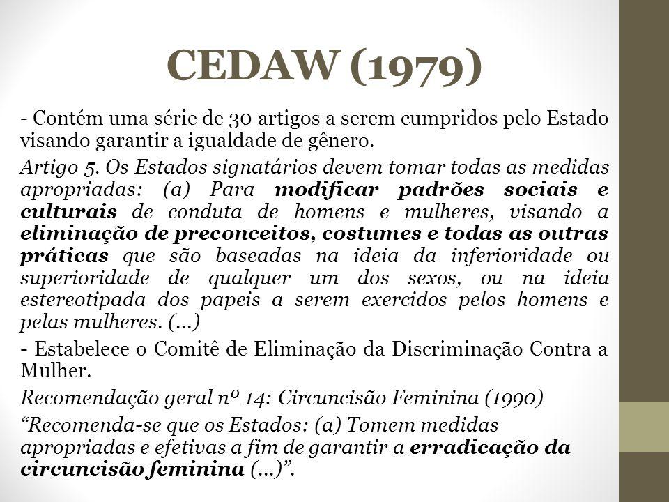 CEDAW (1979)