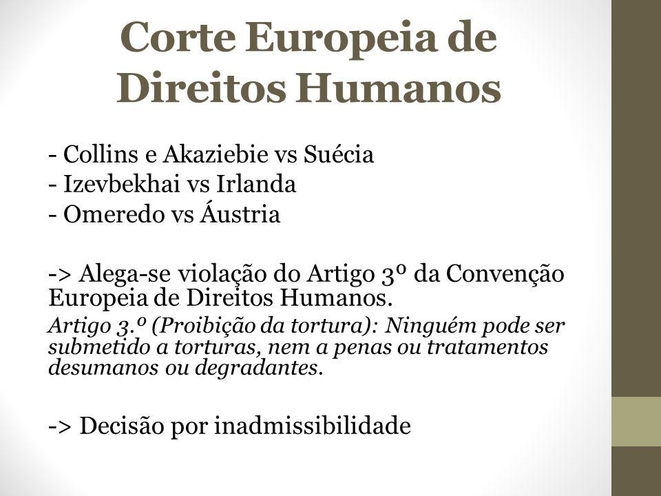 Corte Europeia de Direitos Humanos