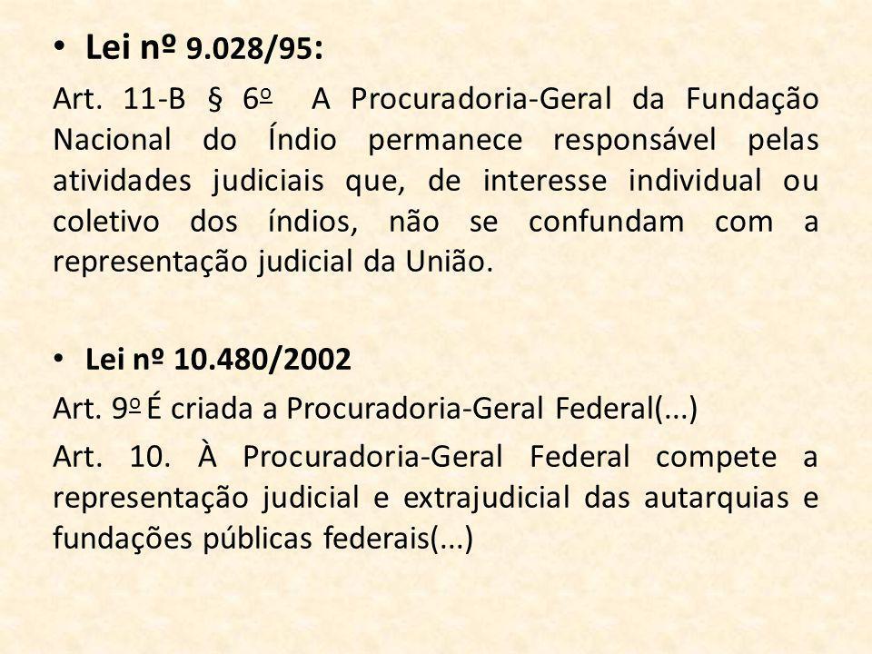 Lei nº 9.028/95: