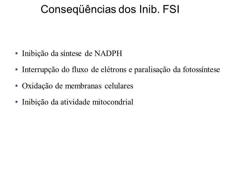 Conseqüências dos Inib. FSI