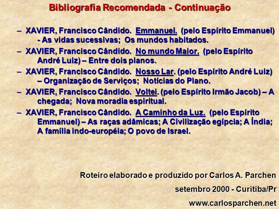 Bibliografia Recomendada - Continuação