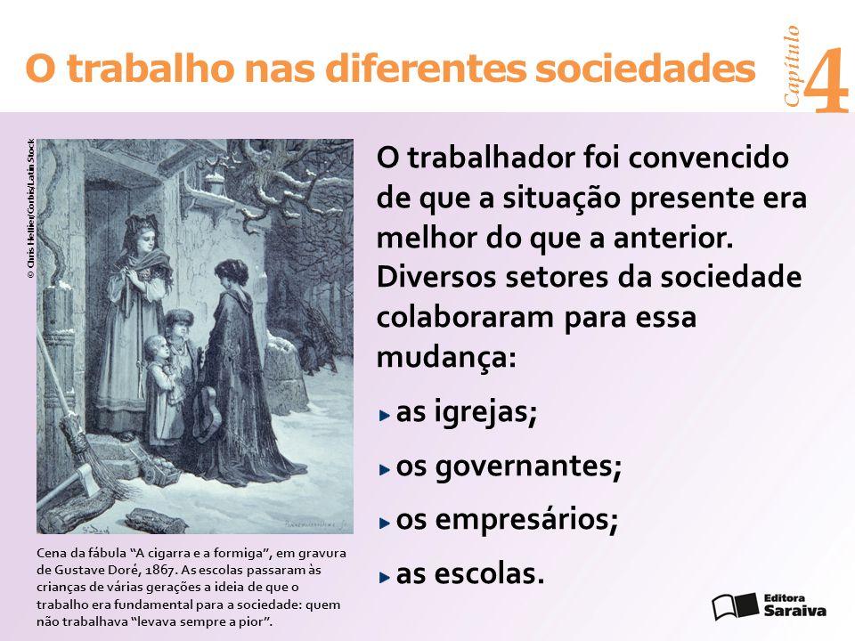 4 O trabalho nas diferentes sociedades
