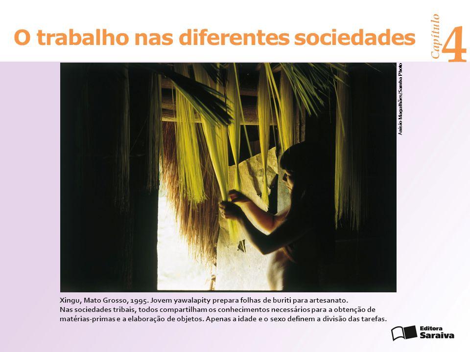 4 O trabalho nas diferentes sociedades Capítulo