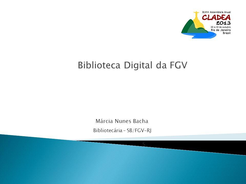 Biblioteca Digital da FGV