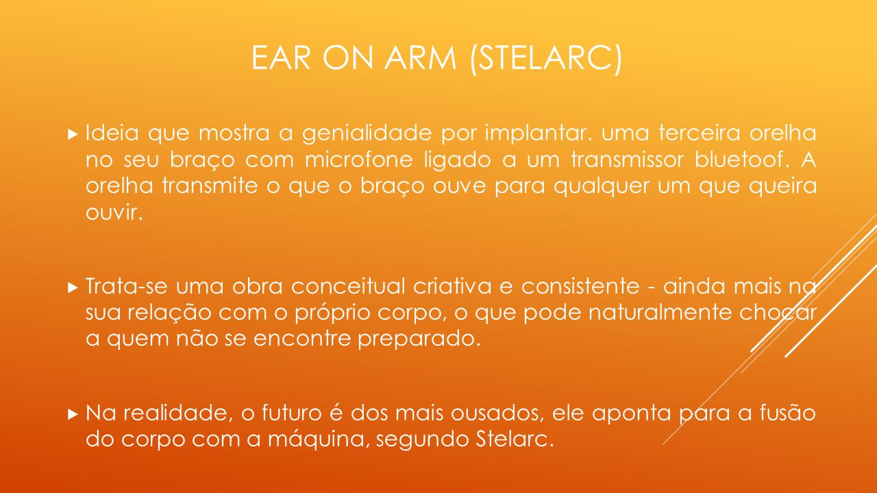 Ear on arm (Stelarc)