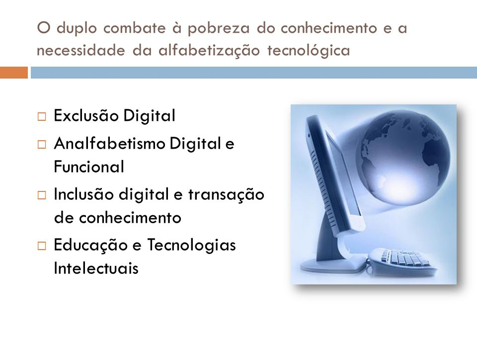 Analfabetismo Digital e Funcional