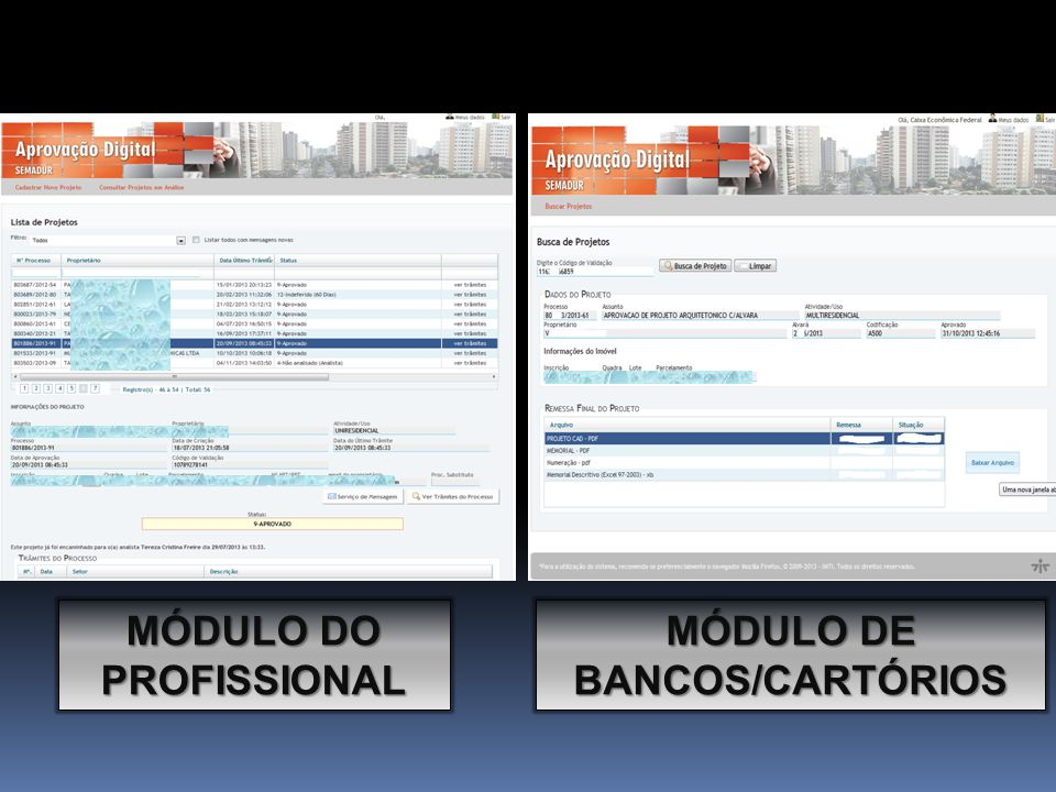MÓDULO DO PROFISSIONAL MÓDULO DE BANCOS/CARTÓRIO S