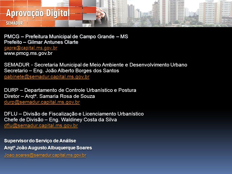 PMCG – Prefeitura Municipal de Campo Grande – MS
