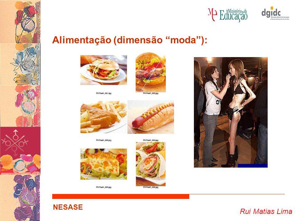 Alimentação (dimensão moda ):