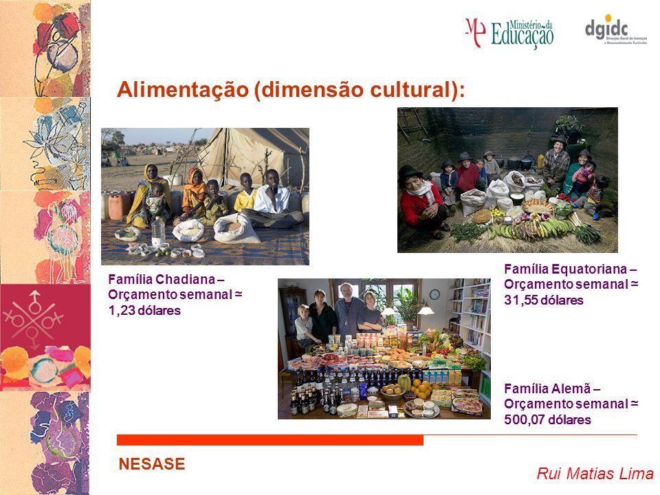 Alimentação (dimensão cultural):