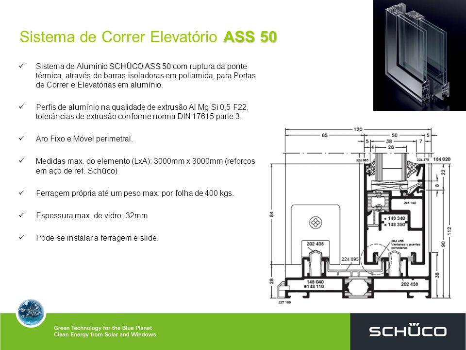 Sistema de Correr Elevatório ASS 50