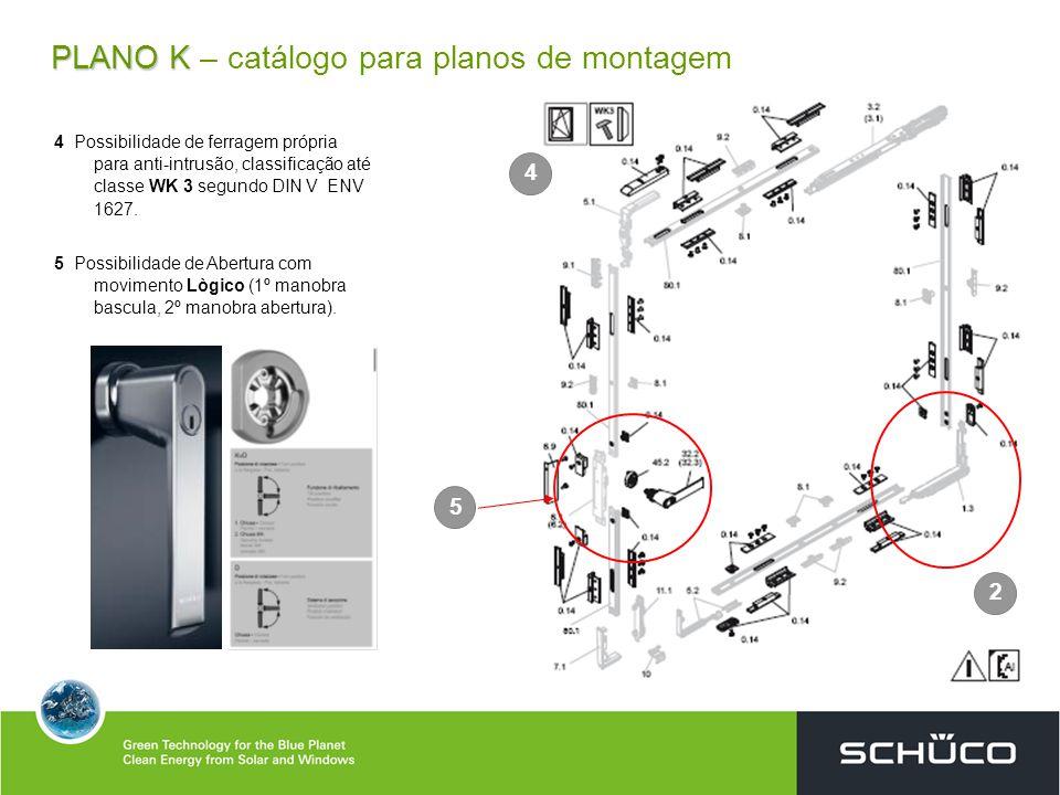 PLANO K – catálogo para planos de montagem