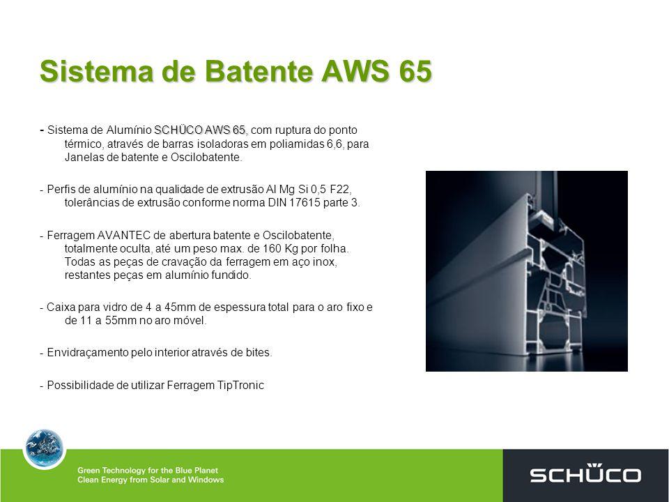 Sistema de Batente AWS 65