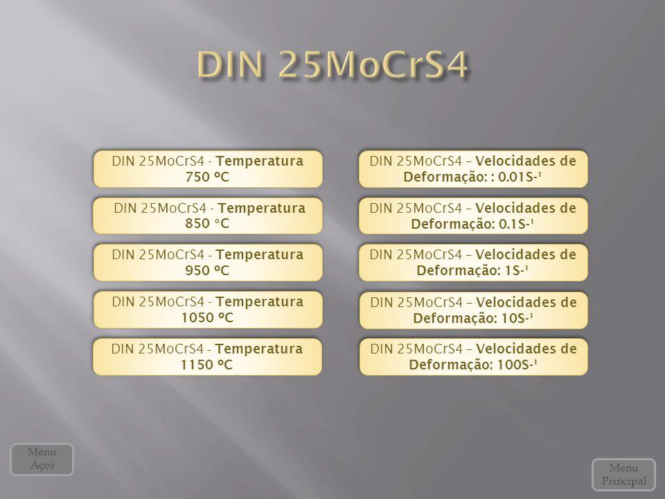 DIN 25MoCrS4 DIN 25MoCrS4 - Temperatura 750 ºC