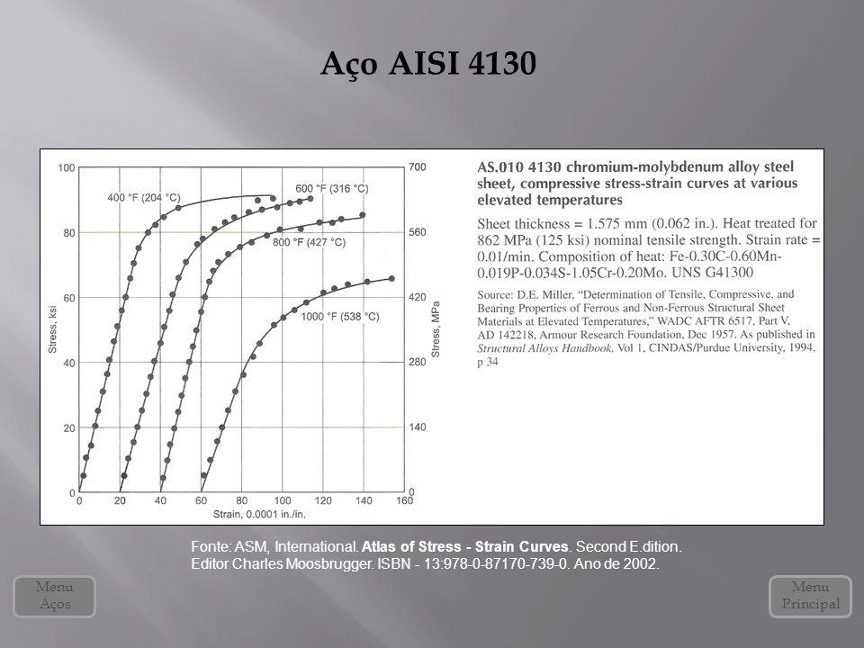 Aço AISI 4130